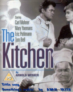"VHS cover of ""The Kitchen"", title song ""Something's Cookin'"" sung by Adam Faith"