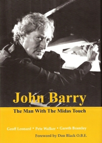 "Our book ""John Barry - The Man With the Midas Touch"" is now only available for purchase at a reduced price via this website."