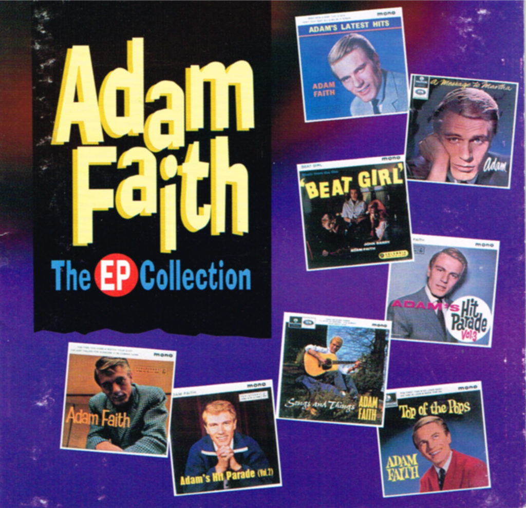 Adam Faith - The EP Collection