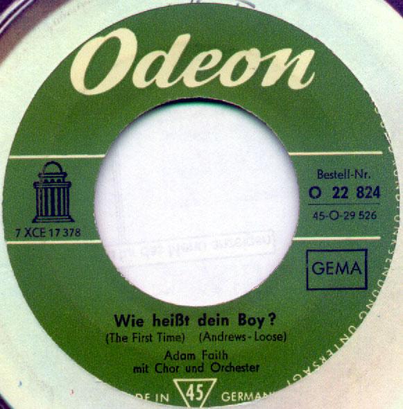 Wie heisst dein Boy (The first Time)